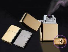 Dagaanbieding: €29,95 ipv €59,95: USB Oplaadbare Elektrische Zippo - For a Lifetime!