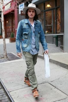 Extrapolating John Mayer's Visvim Collection That's one guy I never tire of watching play guitar....easy on the eyes as well! ;-))