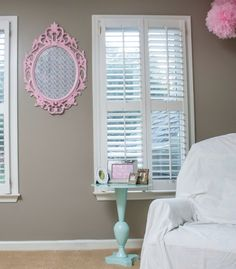 Gallery Roundup The Pink And Aqua Nursery