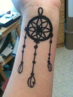 Dreamcatcher henna tatto
