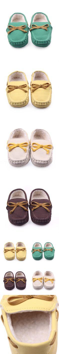 Wholesale Soft Newborn Girl Boy Loafers Slipper Tooddler Kid Slip-On Indoor Baby Shoes LL7 $4.02