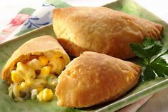 Sweet Corn and Cheese Empanadas..drool