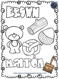 Mi libro de los colores para colorear Pintar o dibujar por placer, diversión o como terapia. Cualquier finalidad es buena. Esta actividad, que no deja de ser una forma de expresión y de comunicación,... Color Worksheets For Preschool, Preschool Colors, Preschool Curriculum, Color Activities, Preschool Learning, Learning Activities, Preschool Activities, Teaching Kids, Kindergarten Art