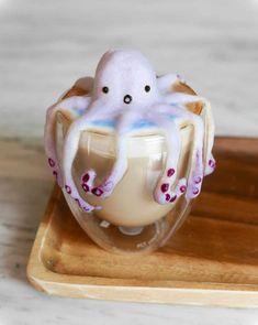 3D-Milchschaumkunst von Daphne Tan - Kulinarische Kaffee-Kunst: http://www.langweiledich.net/3d-milchschaumkunst-von-daphne-tan/