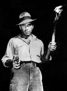 Humphrey Bogart in The Treasure of the Sierra Madre (John HUston, 1948)