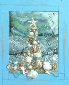 Sea Glass Art for Holiday Decor Sea Glass Art for Holiday