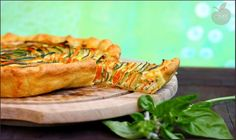 Torta rustica di zucchine e carote - Il Goloso Mangiar Sano