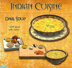 simaddict99's Indian Cuisine - Dhal Soup