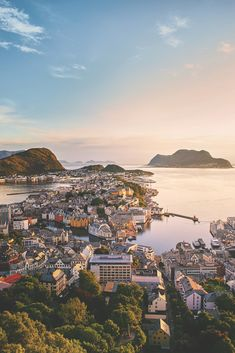 Cruises to Alesund, Norway Alesund, Best Vacation Destinations, Best Vacations, Vacation Packing, Lofoten, Oslo, Aerial Photography, Travel Photography, Places To Travel