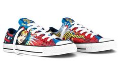 Wonder Woman Converse! These will be mine...