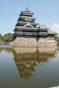 Matsumoto Japan by Jeremy Jones on 500px Beautiful Sky, Beautiful Places, Places Around The World, Around The Worlds, Dojo, Samurai, Jeremy Jones, Nagano, Fukuoka
