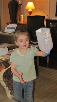 homemade milk bottle game - Pinned by @PediaStaff – Please visit http://ht.ly/63sNt for all (hundreds of) our pediatric therapy pins