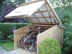 Would like to know about farmhouse sheds? Then this is without doubt the right place! Garden Bike Storage, Outdoor Bike Storage, Shed Storage, Car Shed, Bike Shed, Rack Velo, Garage Velo, Portable Sheds, Outdoor Pergola