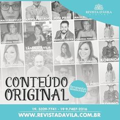 Nos orgulhamos muito de nosso Conteúdo Original acesse a Revista D'Ávila e leia matérias incríveis de profissionais gabaritados http://ift.tt/21jNDeS