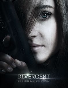 Shailene Woodley as Tris Prior, Divergent by Veronica Roth