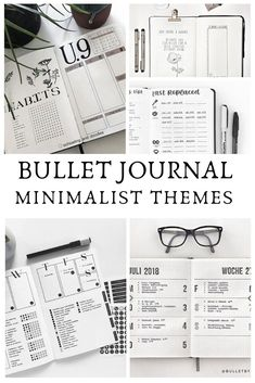 Minimalist Bullet Journal {Spreads that will inspire you to embrace simple!} Minimalist bullet journal spreads do not have to be boring! Take a look at these gorgeous layouts that might just inspire you to go back to basics with your theme next month!