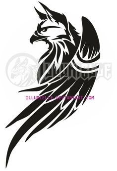 Tattoo: Griffin by Illumielle