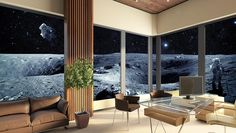 This apartment is out of this world! No, seriously. SilverDoor's new listing is on the moon. http://www.silverdoor.co.uk/total-eclipse-apartments-the-moon-8103/