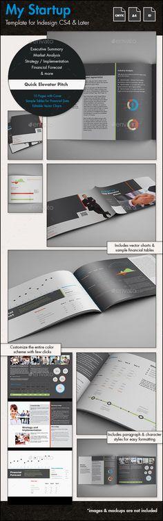 Professional Business Plan Template A4 Portrait Business