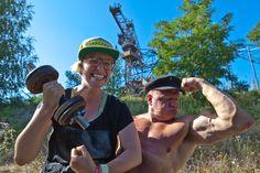 #YNTHT oder aber auch: Ein Nackter, eine glühende Hantel & ein Pläuschchen mit RUMMELSNUFF FSD FOTO