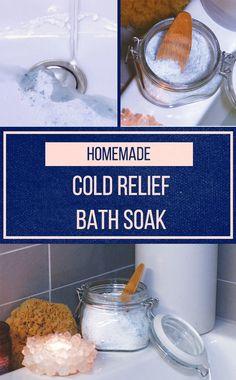 DIY Cold Relief Bath Soak 💆🏻