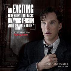 THE IMITATION GAME (2014) ~ Benedict Cumberbatch as Alan Turing.