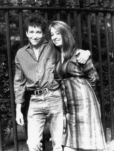 Bob Dylan and Suze Rotolo, 1963.