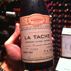 Haven't had this vintage but the 1978 La Tache remains the single greatest wine I have ever tasted.----------------------------  1963 DRC La Tache.... Mmm wine porn