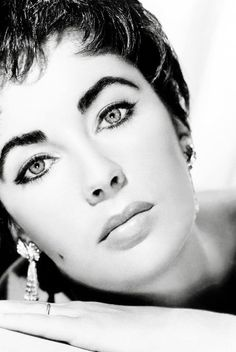 Elizabeth Taylor....looked great with super short hair.