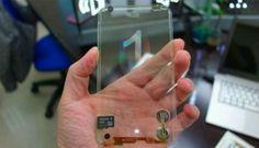 Dünyanın ilk şeffaf telefonu/ World's first transparent phone