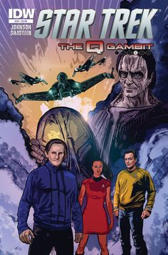 FIRST LOOK: IDW's Star Trek Comics for October
