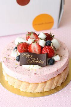 Kawaii Dessert, My Dessert, Cute Desserts, Desserts To Make, Cafe Rico, Charlotte Cake, Gelatin Recipes, Beautiful Cake Designs, Bakery Menu