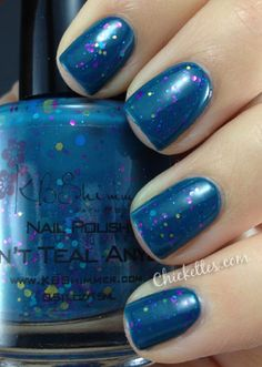 KB Shimmer Don't Teal Anyone Swatch