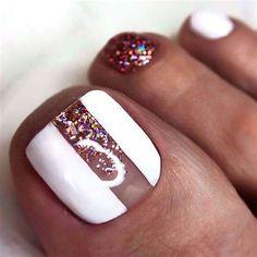 Glitter Toe Nails, Acrylic Toe Nails, Black Toe Nails, Pretty Toe Nails, Cute Toe Nails, Toe Nail Art, Gold Nails, Stiletto Nails, Gold Glitter
