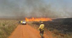Chefe de brigada fala de prevenção de incêndios na Serra da Canastra