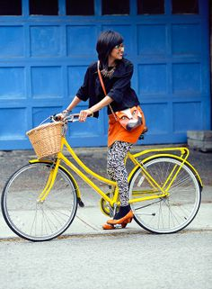 Zara's #Bikestyle #bicycle #cyclechic