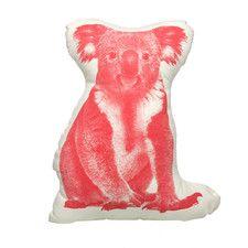Organic Cotton Koala Pillow