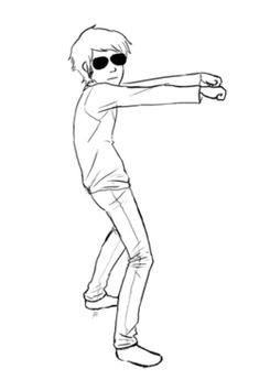 Dave Strider shall dance to any song you give. It's worth it.