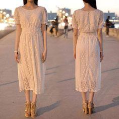 Simple net dress