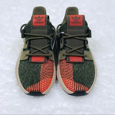 official photos a516a 9cff7 adidas Shoes   Adidas Original Prophere Shoes Olive Green Nwt   Color  Green  Orange