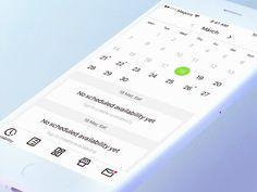 Schedule creation by Alexander Olssen #Design Popular #Dribbble #shots
