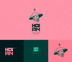 HOI AN - VIETNAMESE TRIBUTE on Behance Brand Identity Design, Branding Design, Logo Minimalista, Cake Logo Design, Logo Sketches, Bar Logo, Web Design, Logo Concept, Cool Logo