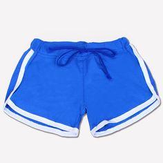 2019 Summer Esportes Fast Drying Drawstring Women Shorts Casual Anti E – eavengifts Skinny Shorts, Sexy Shorts, Sport Shorts, Casual Shorts, Gym Shorts Womens, Women Shorts, Sexy Jeans, Color Shorts, Striped Shorts