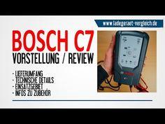 BOSCH C7 Batterie - Ladegerät  Vorstellung  24V / 12V LKW & Auto Batterie
