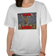 In God We Trust Patriotic Bears Shirt
