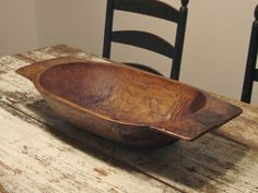 trencher dough bowl