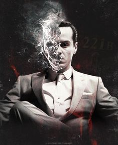 """"""" … hell is something you carry around with you. ―Neil Gaiman """" url graphic for moriarty221b """" """""""