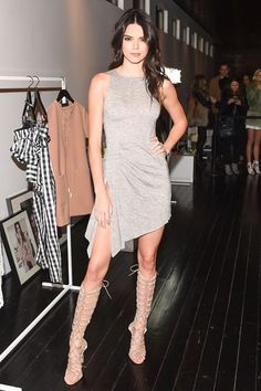 Kendall Jenner - Kendall & Kylie Collection launch event, New York - February 8 2016