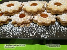 gluténmentes linzer Diabetic Recipes, Diet Recipes, Gingerbread Cookies, Free Food, Muffin, Breakfast, Cake, Minden, Desserts