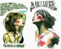 Descubriendo a Paula Bonet… Paula Bonet, Fan, Face And Body, Art Inspo, Comic Art, Illustration Art, Doodles, Artist, Anime